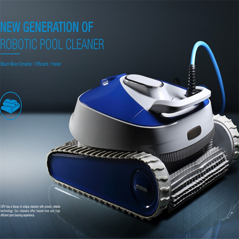 Factory Direct Swimming Pool Accessories Robot Pool Cleaner Underwater Vacuum Cleaner Swimming Pool Automatic Robot Purifier