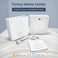 Zigbee3 0     Hub passerelle sans fil pour maison connectee  compatible avec application Apple Homekit Home  Amazon Alexa  Apple TV  HomePod  commande vocale  DC5V