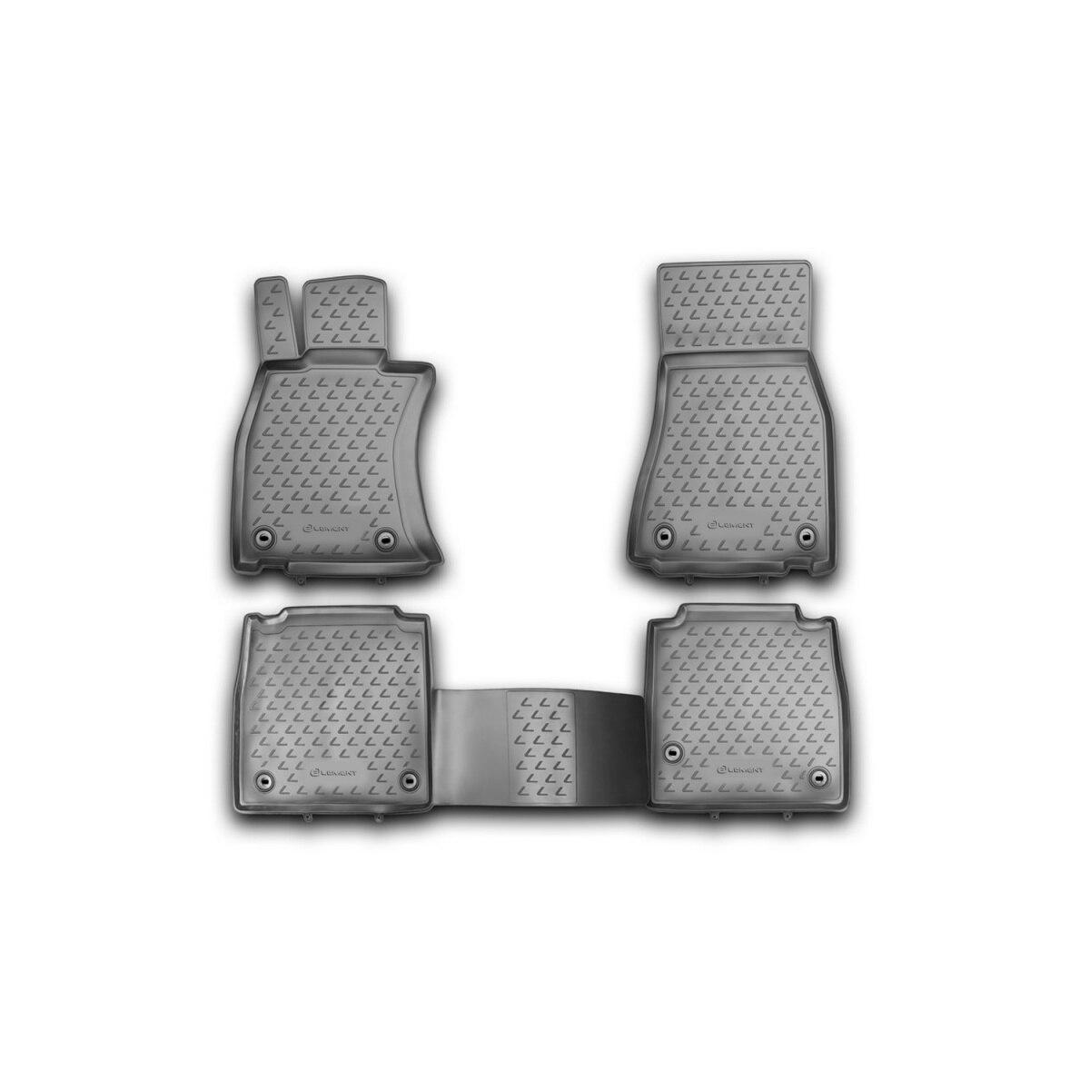 Tapetes para lexus ls 460 l, 2012-4 peças (pu) (lexus)