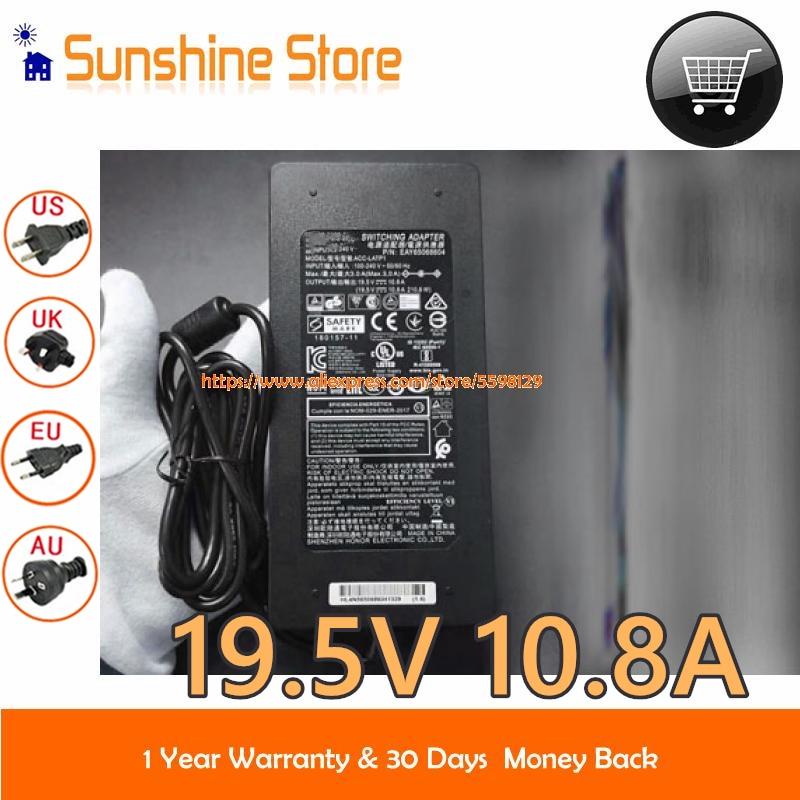 حقيقية ل LG ACC-LATP1 DA-180C19 AC محول EAY65068604 19.5V 10.8A 210W ل 32BL95U 32UL950-W 32UD99 34WK95C 32UN880 38GL950G