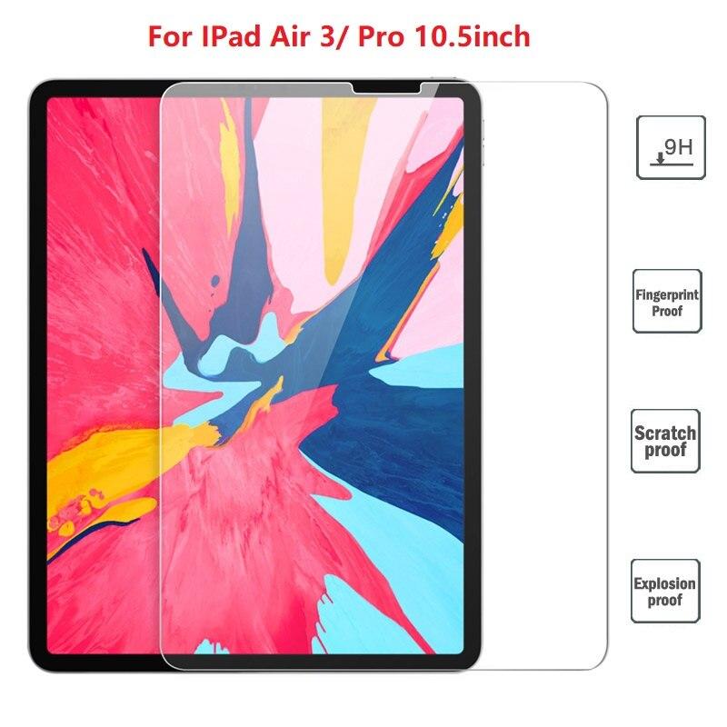 Screen Protector For iPad Pro 11 10.5 / 5th 6th Tempered Glass For iPad 10.2 2019 /2017 2018 9.7 Air 1 2 3 /mini 4 5 /mini 1 2 3