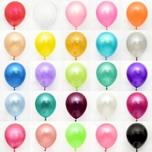 10/20/30/50Pcs 10/12inch Pearl Latex Balloons Wedding Birthday Party Decoration Balloon Xmas Baby Sh