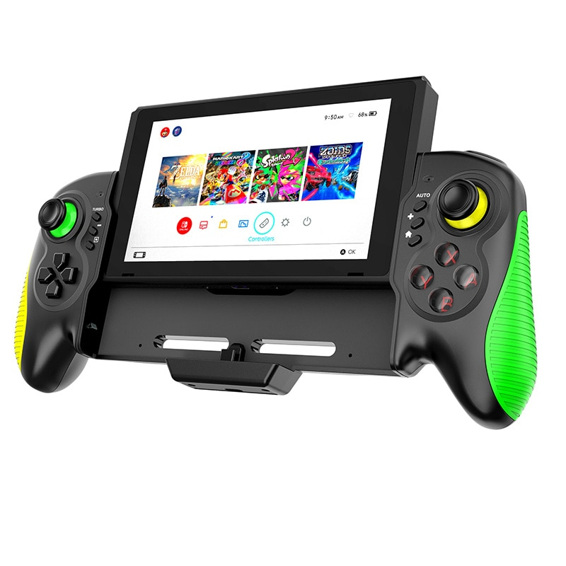 Dual-Motor Vibratio Game Controller Handle For Switch Host Joy Gamepad Console   Dpad  Video   Joyst