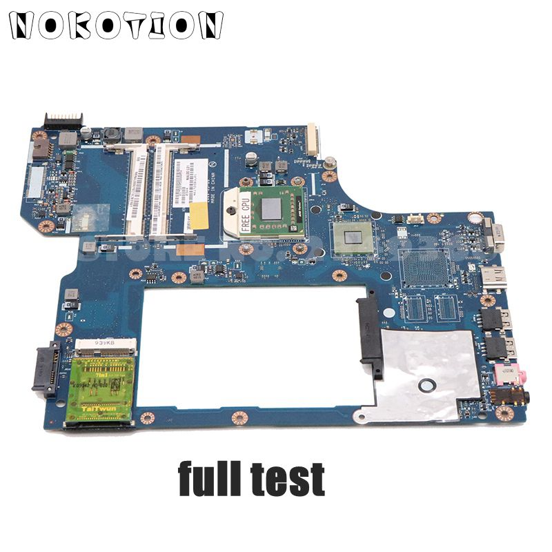 NOKOTION para la placa base del ordenador portátil acer 5534 5538 5538G MBPE902001 MB. PE902.001 MBNAL00001 NAL00 LA-5401P DDR2 cpu gratis