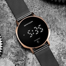Fashion New Watch Men's Multi-Function Simple Student Watches Touch Screen Sports Waterproof Electro