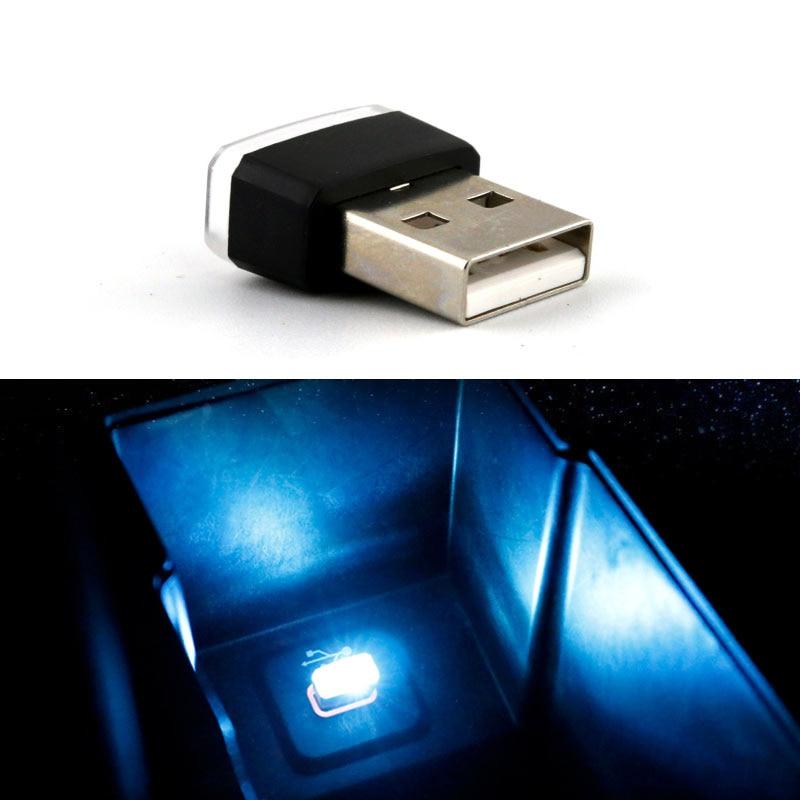 Accesorios de luz LED de atmósfera USB para coche para Renault Megane 2 3 Duster, Logan capture Clio Cruze Aveo captiva