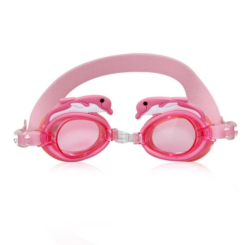 Cartoon Cute Outdoor Sports Swim Eyewear Pool Glasses Swimming Glasses Kids Children Adjustable Waterproof Anti-Fog Goggles