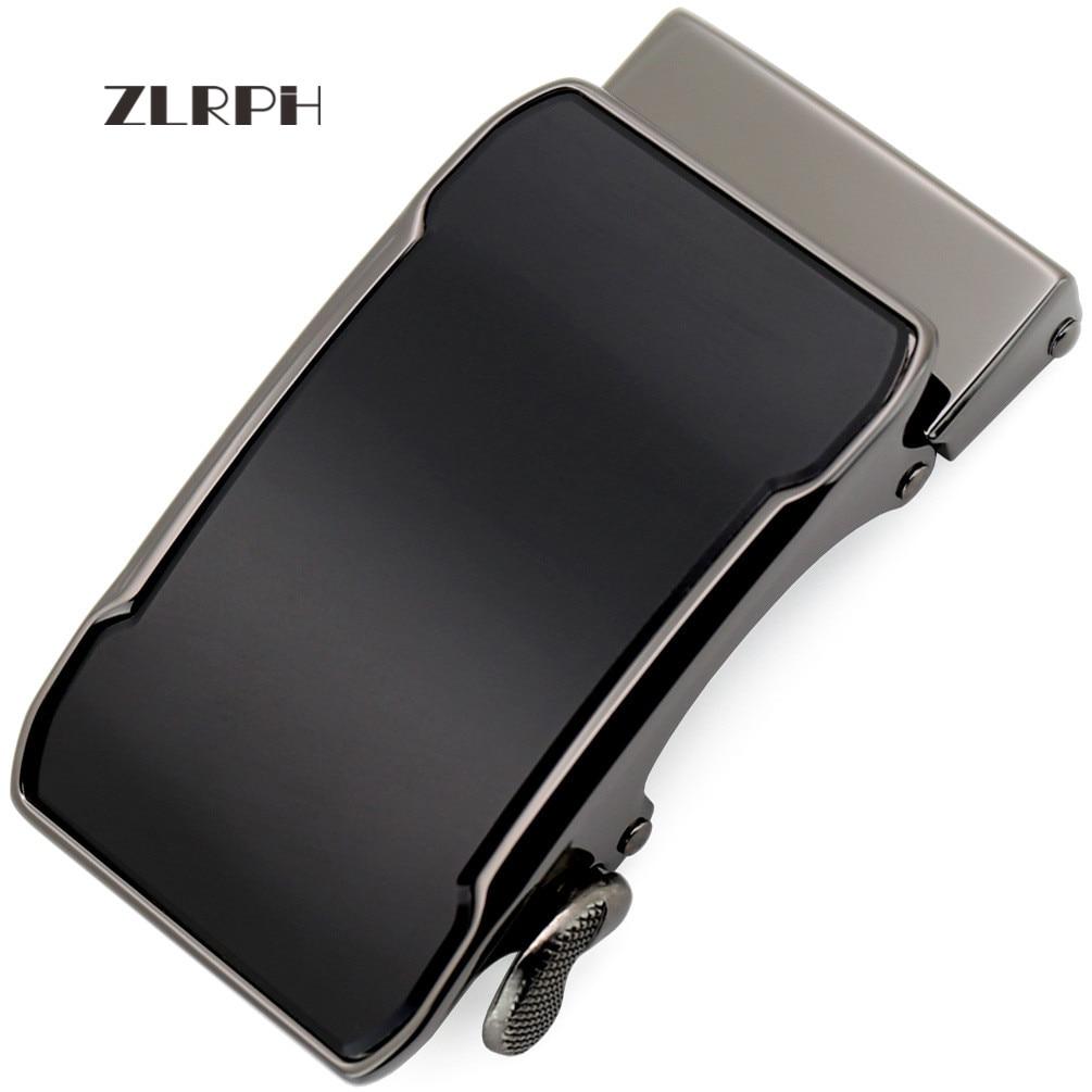 ZLRPH Alloy Ratchet Belt Buckle Automatic Slide Buckle Belt Accessories automatic belt buckle Inner width 3.6cm