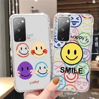 y5 y6 2019 smile face case honor 10i 10x 10 lite 9x 9c 9s 7a 7c 8a 8x 8s back cover for huawei p30 p40 lite p smart z 2021 cases