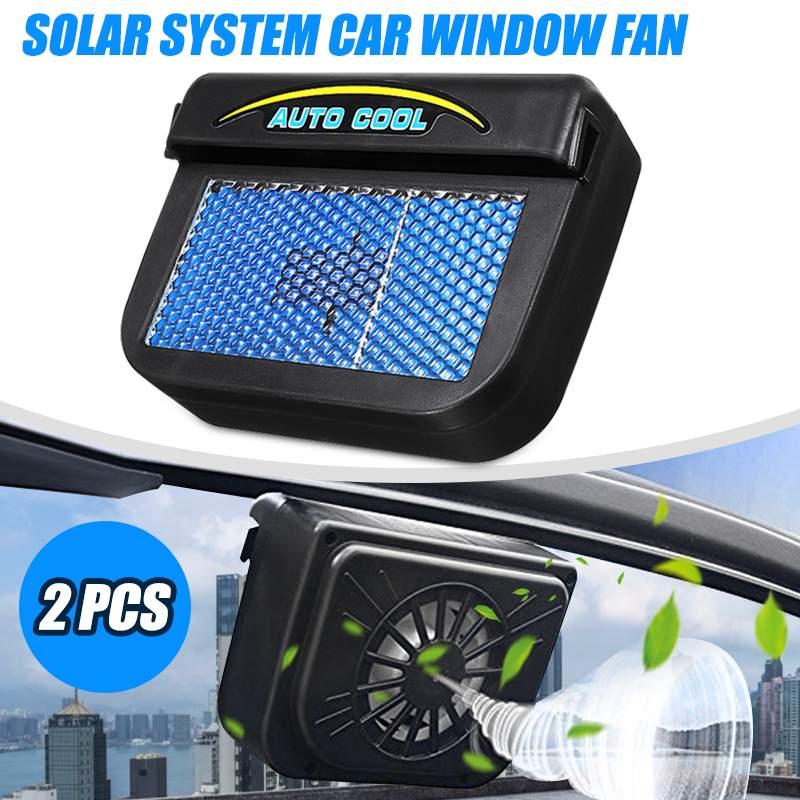 Samochód zasilany energią słoneczną Auto okno Air Vent wentylator chłodzący wentylacja chłodnicy chłodnicy ogrzewanie i wentylatory samochodów wentylator samochodowy wentylator słoneczny