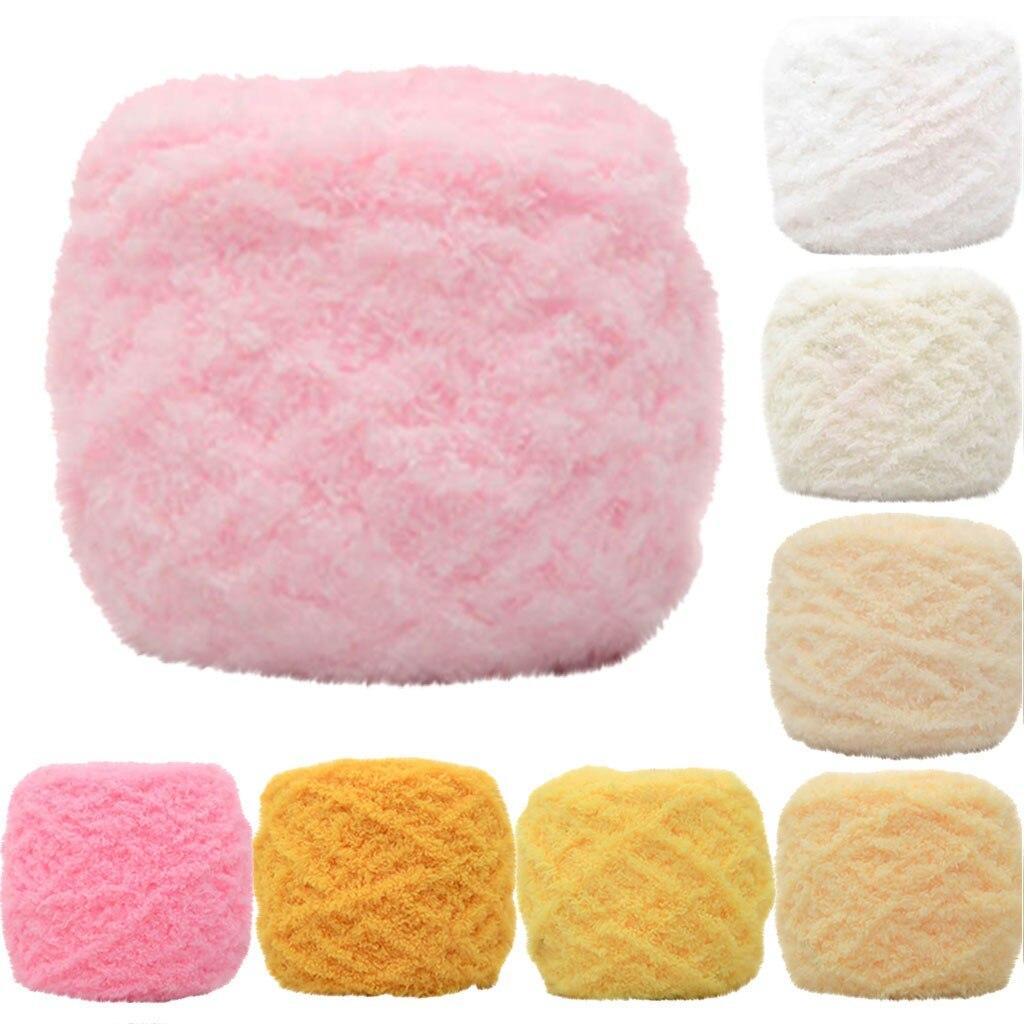 Bufanda de lana de Coral suave gorro cálido grueso para el hogar suministros para el hogar cordón de algodón tejido Color sólido suéter de felpa sombrero # R25