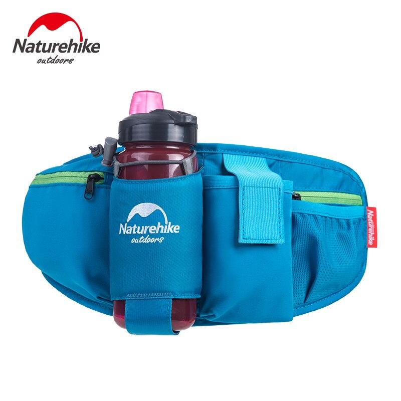 Naturehike, riñonera para correr al aire libre, senderismo, botella de agua corriente, riñonera deportiva, accesorios deportivos, paquete de hervidor, bolsa para teléfono