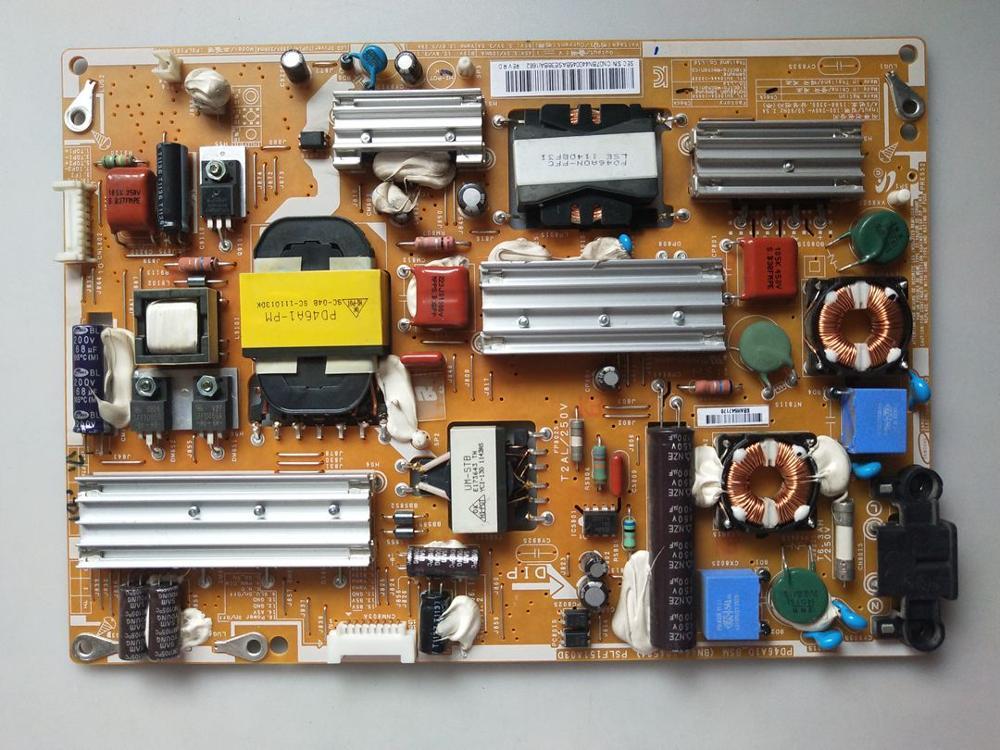 BN44-00458A شحن مجاني 100% جيد اختبار الأصلي مجلس امدادات الطاقة لسامسونج UA46D6000SJ مجلس BN44-00458A PSLF151A03D PD46A