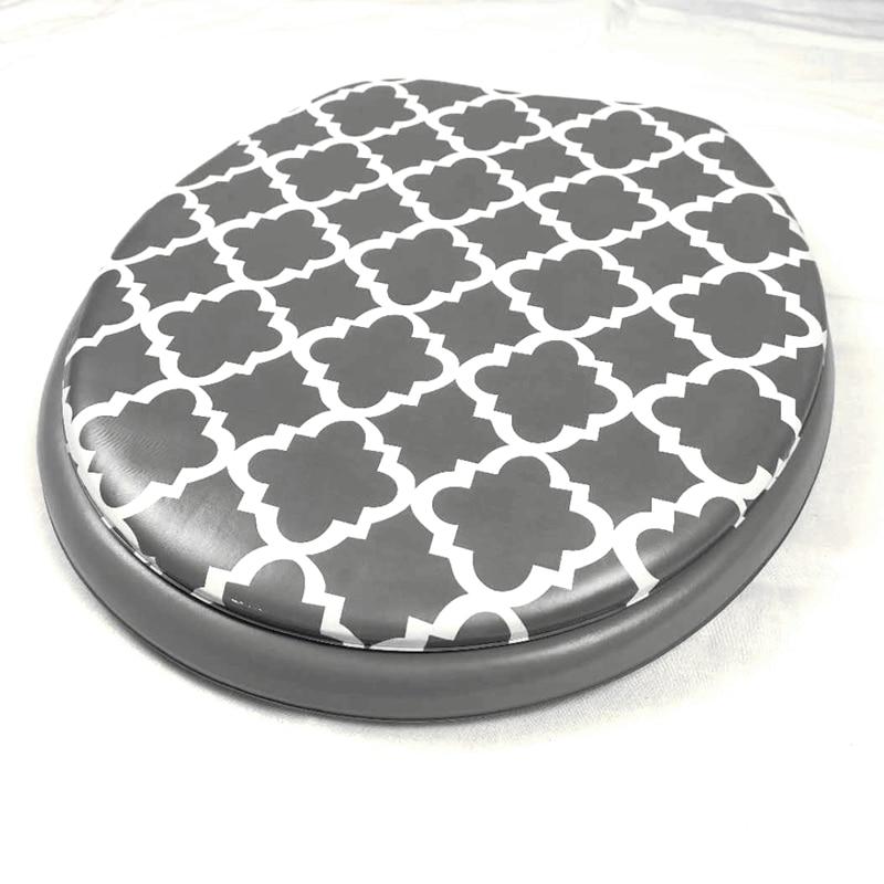 toilet seat cover set sponge fashion 17 lid pattern soft warm 2020 high quality