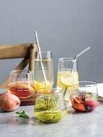 transparent glass cup sunny juice glass mug milk coffee cocktail glass borosilicateglass drinking glasses office home restaurant