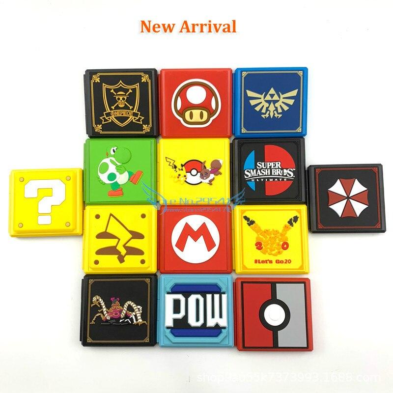 Переключатель Super Mario, кассеты 12 в 1, кассеты для игры ns, кассеты для хранения, кассеты 12 в 1, кассеты с памятью, портативные кассеты