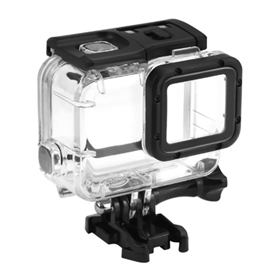 45m Waterproof Case for 5/6/7 Housing, Underwater Protective Housing Case Bracket Accessories Diving Case for Action Camera