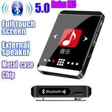 Original RUIZU M5 Sport Bluetooth MP3 Player 16GB 8GB Clip Mini Full touch screen Support FM,Recordi