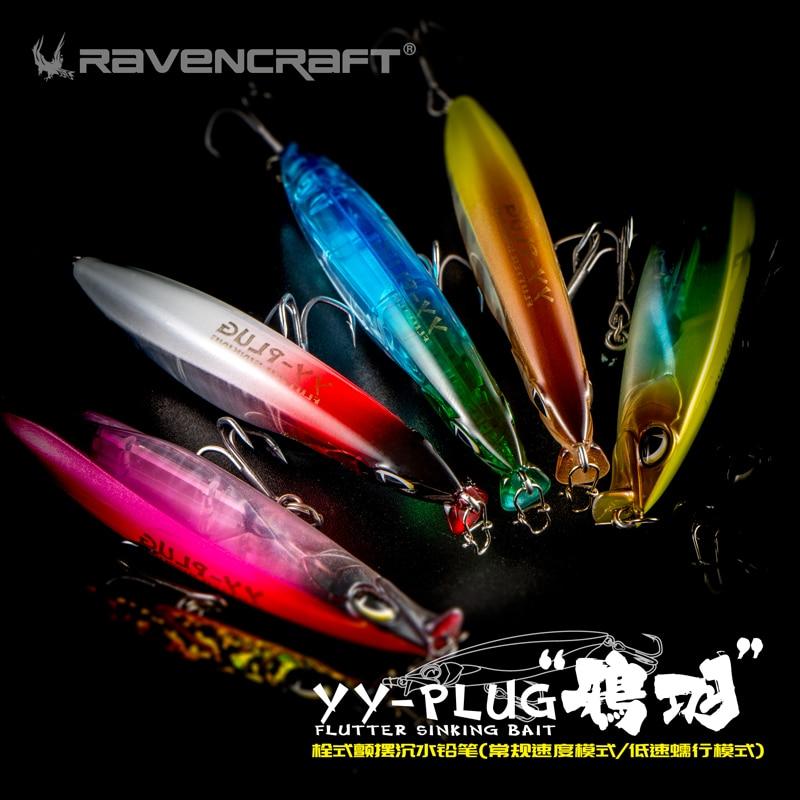 2020 new YY-PLUG sinking pencil lure stickbait 67mm/10g fishing wobblers slow sink hard minnow bait for trout perch fish