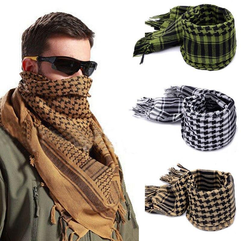Handsome Arafat arab scarf shawl Keffiyeh Kafiya Lightweight Military Shemagh palestine Man Stripe Scarf With Tassels Soft Warm