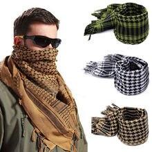 Handsome Arafat arab scarf shawl Keffiyeh Kafiya Lightweight Military Shemagh palestine Man Stripe S