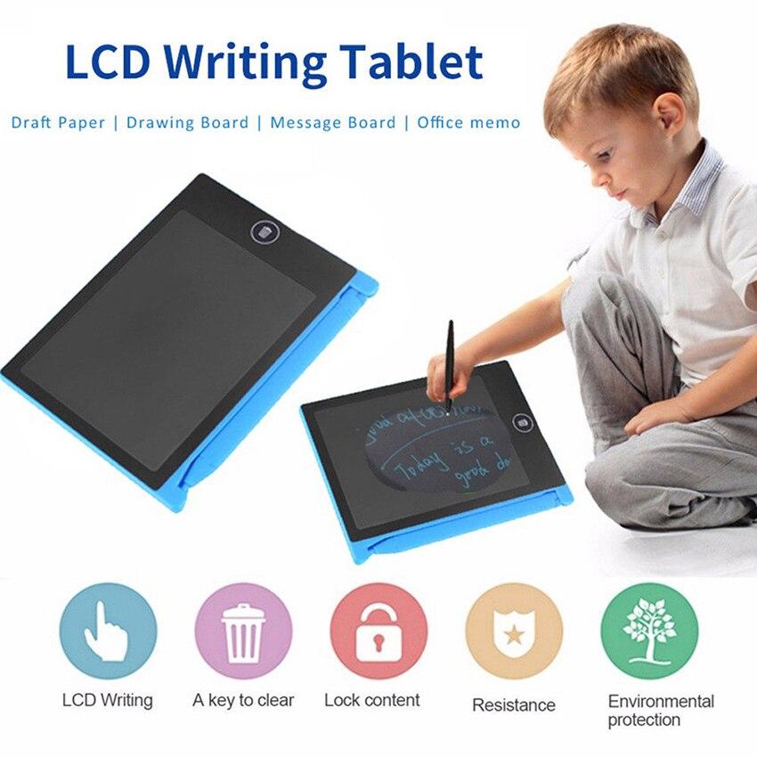 1 шт. электронная доска для рисования, ЖК-экран, планшет для письма, цифровые графические планшеты для рисования, Электронная доска для письм...