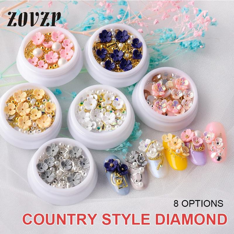 ZOVZP Accesorios para uñas Nail Art, Accesorios para uñas Nail Art con...