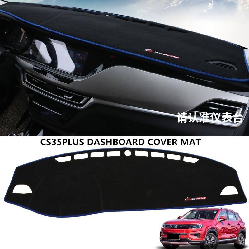 Dashboard Cover Dash Mat Dashmat For CHANGAN CS35PLUS 2019-2020 Dash Board Cover Pad Sun Shade Carpet
