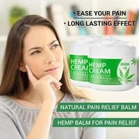 Soothing Hemp Cream Hemp Seeds Extract Cream Relieve Muscle Pain Neck Back Shoulder Body Pain Hemp Cream Hemp Soothing Cream