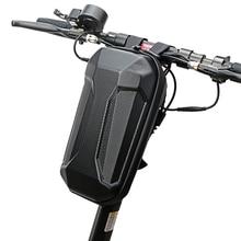Bolsa Universal de 4L para Scooter Eléctrico, bolsa para manillar de bicicleta, impermeable, carcasa dura de EVA, bolsa plegable para la cabeza de la bicicleta para Xiaomi M365
