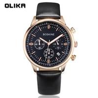 special offer business mens watch multifunctional sports waterproof quartz watch three eye six pin mens gift watch
