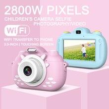 Caméra HD 1080P Portable numérique vidéo Photo enfants 1200W caméra jouet Rechargeable caméra Mini 3.0 pouces écran éducatif Ou