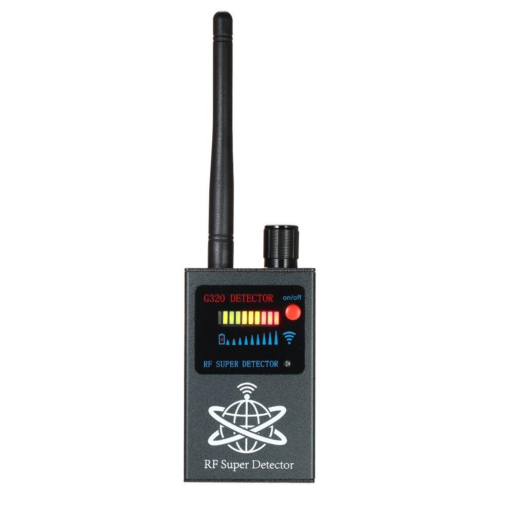 Anti Spy RF Bug Detector Devic Wireless Signal Radio Eavesdrop Detector Camera Len Auto-detection GPS Finder Gsm Tracker Scanner