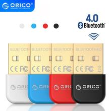 ORICO adaptador USB inalámbrico con Bluetooth 4,0 Dongle Bluetooth aptX receptor de sonido de música adaptador Bluetooth transmisor para ordenador