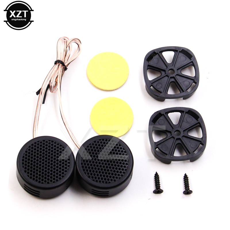 2x 500W Loud Speaker High Efficiency Mini Dome Tweeter Loudspeaker Super Power Audio Sound Klaxon To
