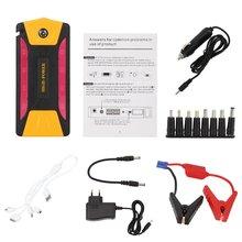 82500 Mah Grote Capaciteit Auto Motor Auto Jump Starter Emergency Charger Booster Power Bank Batterij Set Eu Plug