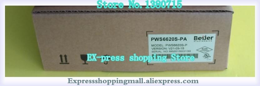 WS6620S-P PWS6620S-PA شاشة تعمل باللمس 5.7 بوصة HMI 2Com جديد في صندوق