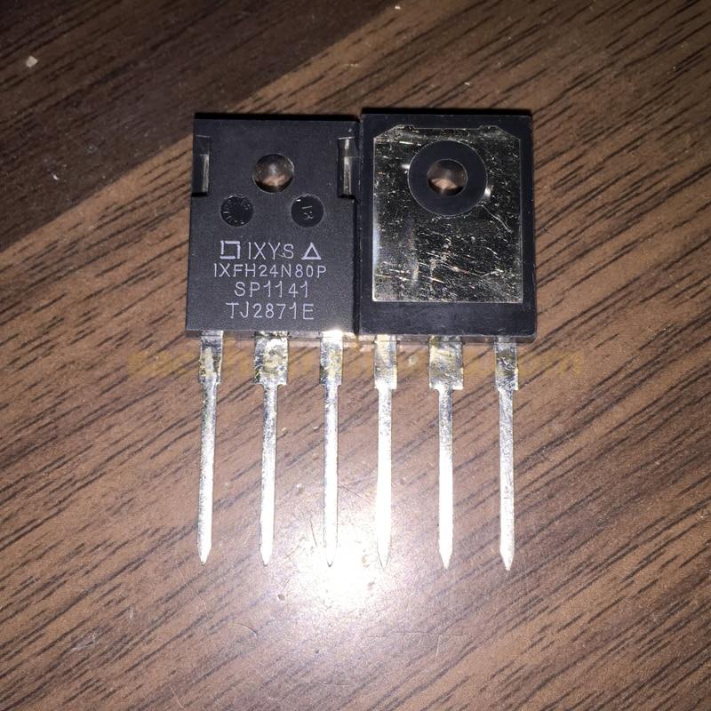 5 шт. IXFH24N80P или IXFH24N90P или IXFH18N90P или IXFH17N80Q или IXFH16N90Q или IXFH16N90Q или IXFH16N80P TO247 24A 800 в одиночный МОП-транзистор