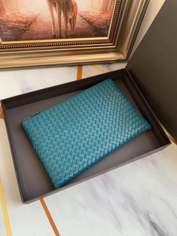 2019 brand style popular handbag high quality woven bag, sheepskin leather handbag Clutch