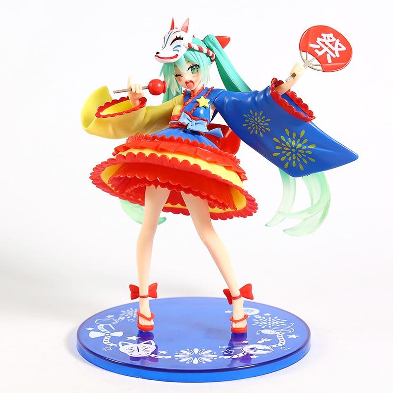 Vocaloid Hatsune Miku 2. ª temporada verano Ver. Figura de grúa en línea TAITO, juguete de modelos coleccionables