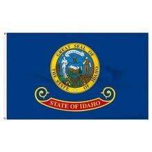 90x150cm us usa state idaho flag