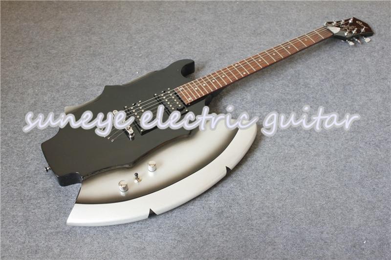 Nuevo Producto, Guitarra eléctrica Cort AXE, accesorios cromados, Guitarra eléctrica con diapasón...