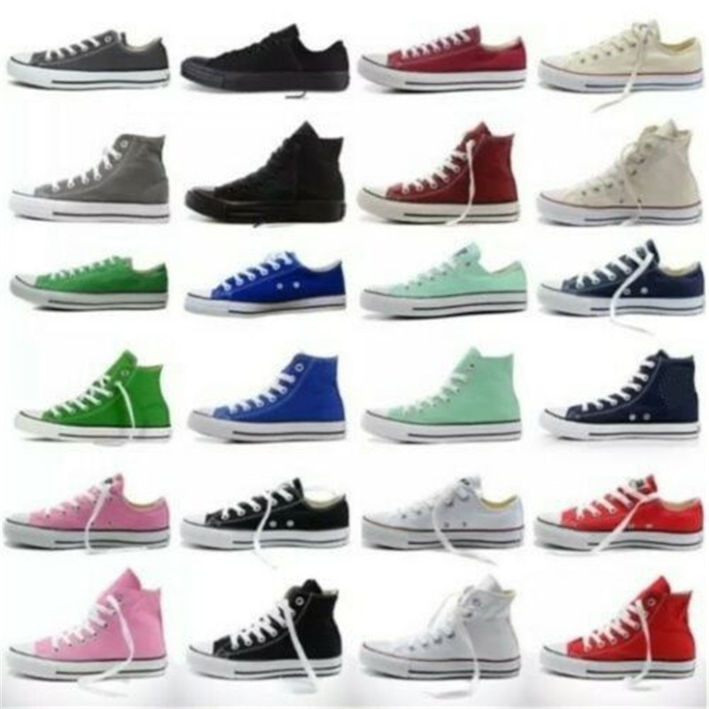 2020 running shoes Unisex Women Low High Top Canvas Shoes Designer Ms Athletic Sneakers running shoe