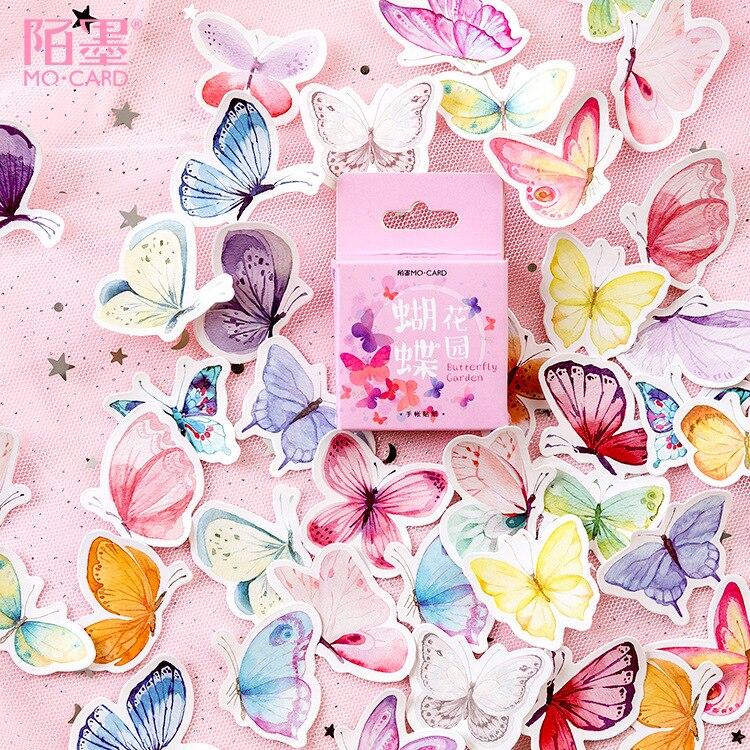 46-unids-caja-mariposa-pegatinas-scrapbooking-diy-articulos-de-papeleria-para-decoracion