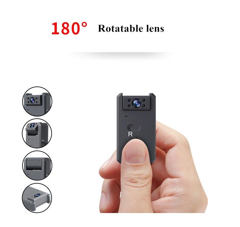 WiFi 4K HD MD90 Mini cámara del deporte Cámara de 1080 Micro-Cámara de la visión nocturna infrarroja DV Video Digital DVR videocámara de acción para bicicleta al aire libre
