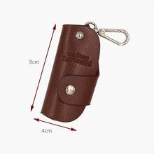 Car Key Case Leather Key Chain Wallet PU Men's and Women's Key Chain Storage Bag Cow Separate Bu