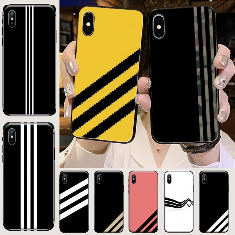 AliExpress - Fashion sport brand Adida Phone Case for iPhone 11 12 mini pro XS MAX 8 7 6 6S Plus X 5S SE 2020 XR