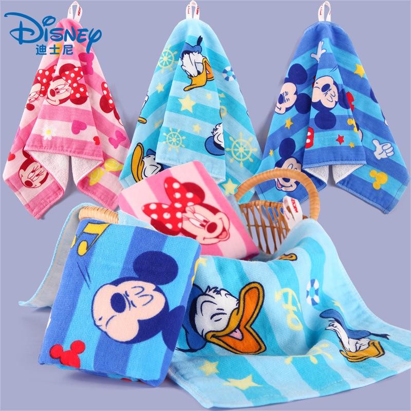 Дисней мультфильм Микки Маус Холодное сердце принцесса Эльза полотенце для лица Хлопок Марлевое детское полотенце для новорожденных дети мальчик нагрудники для девочек платок подарок