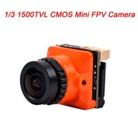 Новинка 1/3 CMOS 1500TVL B19 Мини FPV камера 2,1 мм Мощность объектива 5 в-30 в PAL / NTSC с OSD внутренней регулируемой для RC FPV гоночного дрона