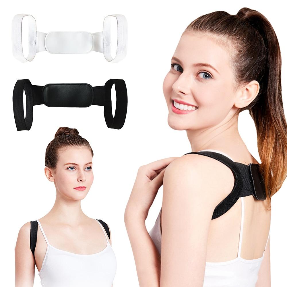 Double Elastic Back Correct Belt Invisible Posture Corrector Shoulder Strap Straight Back Brace Support Belt Unisex Two Size